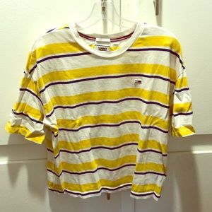 Tommy Jeans Striped Polo Tee